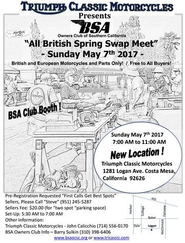 BSA Swap Meet